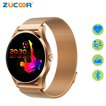 ZUCOOR Smart Watch Mobile Phone Fitness Tracker RW24 Watches Clock With Remote Camera Women's Cardiaco Pulse Monitor For Women
