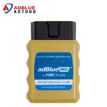 Newest Emulador de Adblue Emulator AdblueOBD2 For Ford Trucks Scanner Diesel Heavy Duty Truck Scan Tool OBD2 Plug and Drive