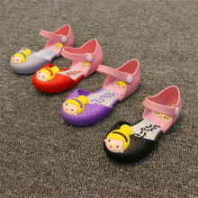 Cartoon Princess Sandals Jelly Girls Toddler Little Kids Shoes Baby Girl Sandals Toddler Girl Sandals High Quality