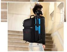 SY15-BLACK Professional Waterproof Outdoor Bag Backpack DSLR SLR Camera Bag Case Nikon Canon Sony Pentax Fuji