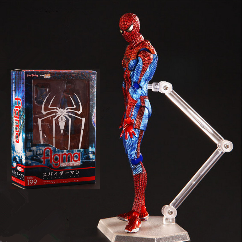 15cm Spider Man Action Figure Toy Deluxe Spiderman Figure Model  For Collection Anime Brinquedos Kids Toys Christmas Gift<br><br>Aliexpress