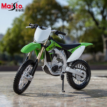 Maisto Kawasaki KX 450F Motorcycle Model 1:12 Scale Metal Motorbike  Collectible Diecast Alloy  Kids Toys Gift