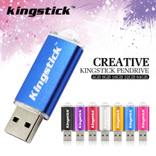 kingstick metal usb flash drive 4gb 8gb pendrive 16gb flash drives 32 gb usb memory stick 64gb usb flash drive