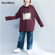Buy 2017 plus size tops femme T-shirts female Casual Loose cotton long sleeve women top clothes autumn clothing for $19.66 in AliExpress store
