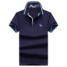 BOLUBAO Brand New Men Polo Shirt Fashion Quality Knitted Small Horse Cotton Short Sleeve Casual Male Camisa Polo Shirt