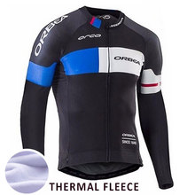 cycling fleece jersey long sleeve men pro team cycling clothing winter cycling jersey thermal fleece 2style mountain bike jersey