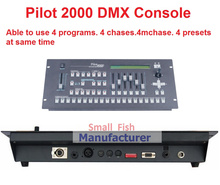 Free Shipping Pilot 2000 DMX Console DMX512 Controller DMX Lighting Controller for 40pcs Computer Stage Lights Moving Head Light