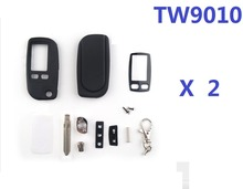 Wholesale 2pcs/lots free shipping New Tomahawk TW9010 Body Keychain for Tomahawk TW-9010 LCD Remote  Only Cover keychain TW9010