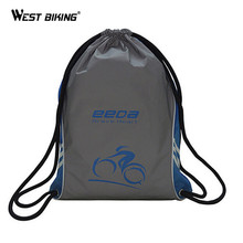 WEST BIKING Reflective 3L Night Mountain Bike Bag Ultra-compression Super Light Sport Backpack Foldable Bicycle Cycling Bag(China)