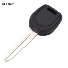KEYYOU Transponder Key Shell fit for MITSUBISHI Colt Lancer Mirage Remote Key No Chip Free Shipping