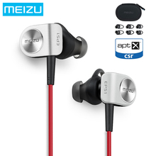 Meizu EP51 Wireless Bluetooth Earphone with Original Box Stereo Headset Waterproof APTX Sports Earphone with MIC Aluminium Alloy