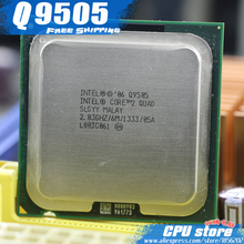 Intel Core 2 Quad Q9505 CPU Processor (2.83Ghz/ 6M /1333GHz) Socket 775 Desktop CPU (working 100% Free Shipping), sell Q9500(China)