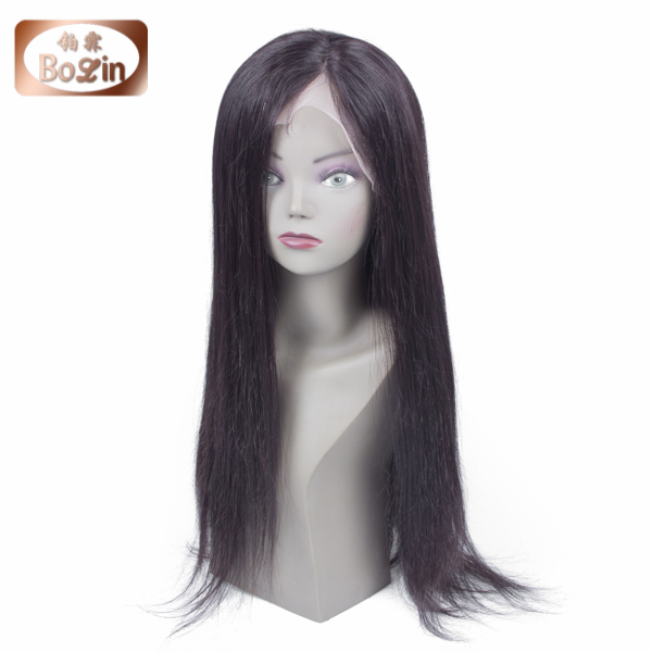 2015 New Brazilian full lace human hair wigs Full Lace Front Wig Natural straight wigs for black women hair In Instock<br><br>Aliexpress