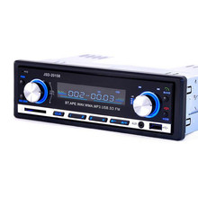 Hot Universal In-Dash 1 DIN 12V Bluetooth FM Car Radio Stereo Car MP3 Audio Player + USB/SD MMC AUX Input Remote Control