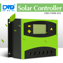 PWM double USB 24V 12v 50A solar panel charge controller with LCD display solar water pump controller AC single-phase inverter(China)