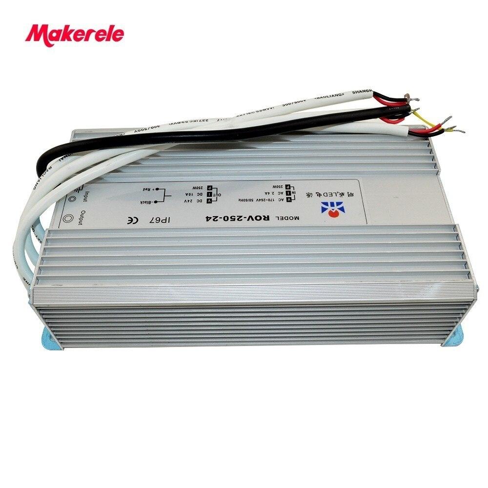 12V 24V 36V 48V 250W switching power supply LED lighting monitor advertising screen power DC aluminum housing quality<br>