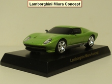 kyosho 1:64 Miura Concept Diecast car model