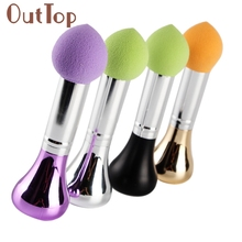 2017 Hot  Cosmetic Makeup Soft Brush latex  Sponge Foundation Makeup Brush Powder blush Puff Brush   Mar16