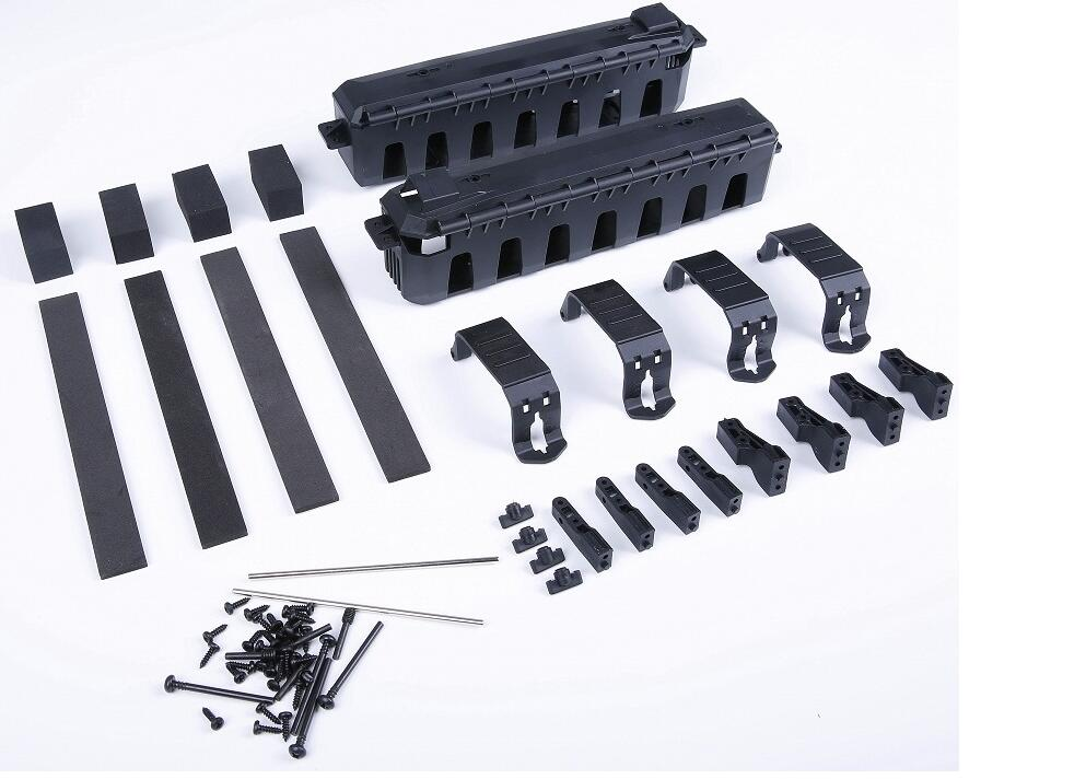 Electric Conversion Battery Box Kits For HPI Savage Flux Hobao Nanda HSP Redcat FS 1/8 scale Monster Truck<br>