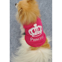 Buy Spring/Summer Pet Dog Clothes Small Dogs Coat Princess Crown Puppy Vest Sweatshirt Teddy Chihuahua Costume Clothing Apparel for $1.63 in AliExpress store