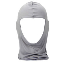 New Unisex Outdoor Cycling Riding Sun Protection Dustproof Breathe Freely Single Hole Full Face Mask Lycra Ski Neck Protect P20