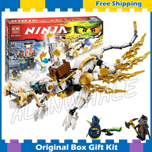 57Bela 10397 Master WU Dragon Ninja Building Kit toys Blocks Bricks Figures Kids Education Compatible lego - Cheery baby store