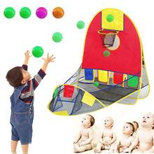 Kids House Basketball Basket Tent Beach Lawn Tent Ball Pool Indoor&Outdoor Sport Best Kid Child Boys Toys BB55