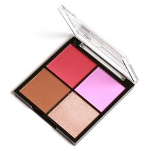 4 Colors Face Makeup Natural Sweet Baked Blusher Powder Cheek Color Beauty Contour Blush Cosmetic