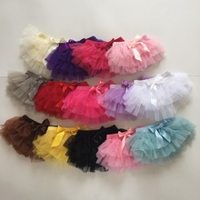 Baby Bloomers Girls Cotton Ruffle Chiffon Diaper Cover Summer Newborn Tutu Ruffled Panties Baby Girls Infant Cotton Baby Short