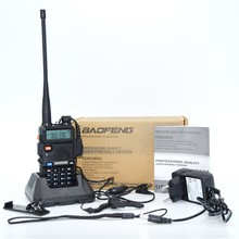 2017 NEW FM Baofeng UV-5R Walkie Talkie 2 Two Way Radio Dual Band Vhf Uhf uv 5r Baofeng For Push-To-Talk CB Radio Stations HF Tr(China)