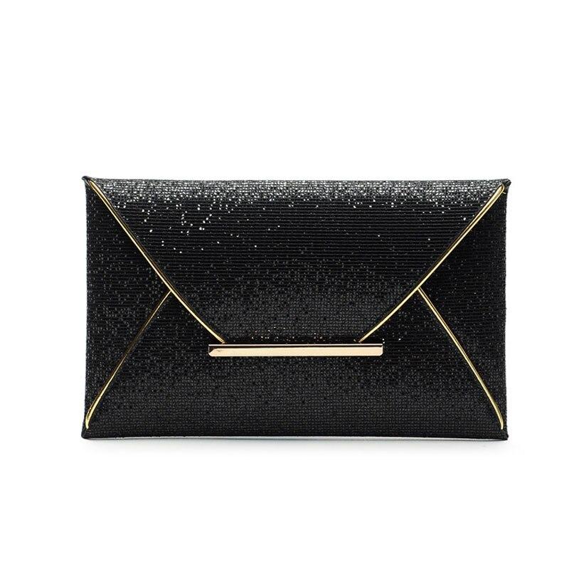 Luxury Famous Brand Designer Envelope Evening Bag Fashion Paillette Handbag Women Day Clutch BB0840<br><br>Aliexpress