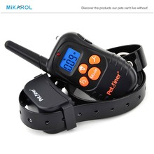 Rechargeable and waterproof dog training collar electric pet waterproof no barking collar for 1 dog