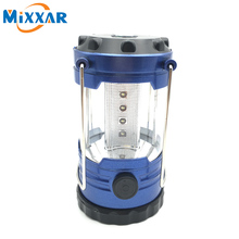 RUZK58 Super Bright Lightweight 12 LED Camping Lantern Outdoor Portable Lights Water Resistant Camping Lighting Lamp