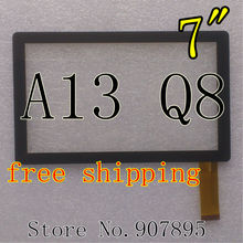 7inch capacitive touch screen Digitizer Glass Replacement for tablet pc Allwinner a13 BG830 Q8 Q88 YL-CG003-03A TYF1012V6 H