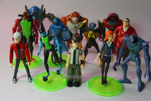 12pcs/set 7~12 CM Ben 10 Protector of Earth Family Action Figures Brinquedos Toys Gift in OPP bag(Chinese Ver.)(China)