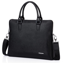 traditional leather dress briefcases mans lady laptop hand fashion large capacity laptop nice computer messenger business bags