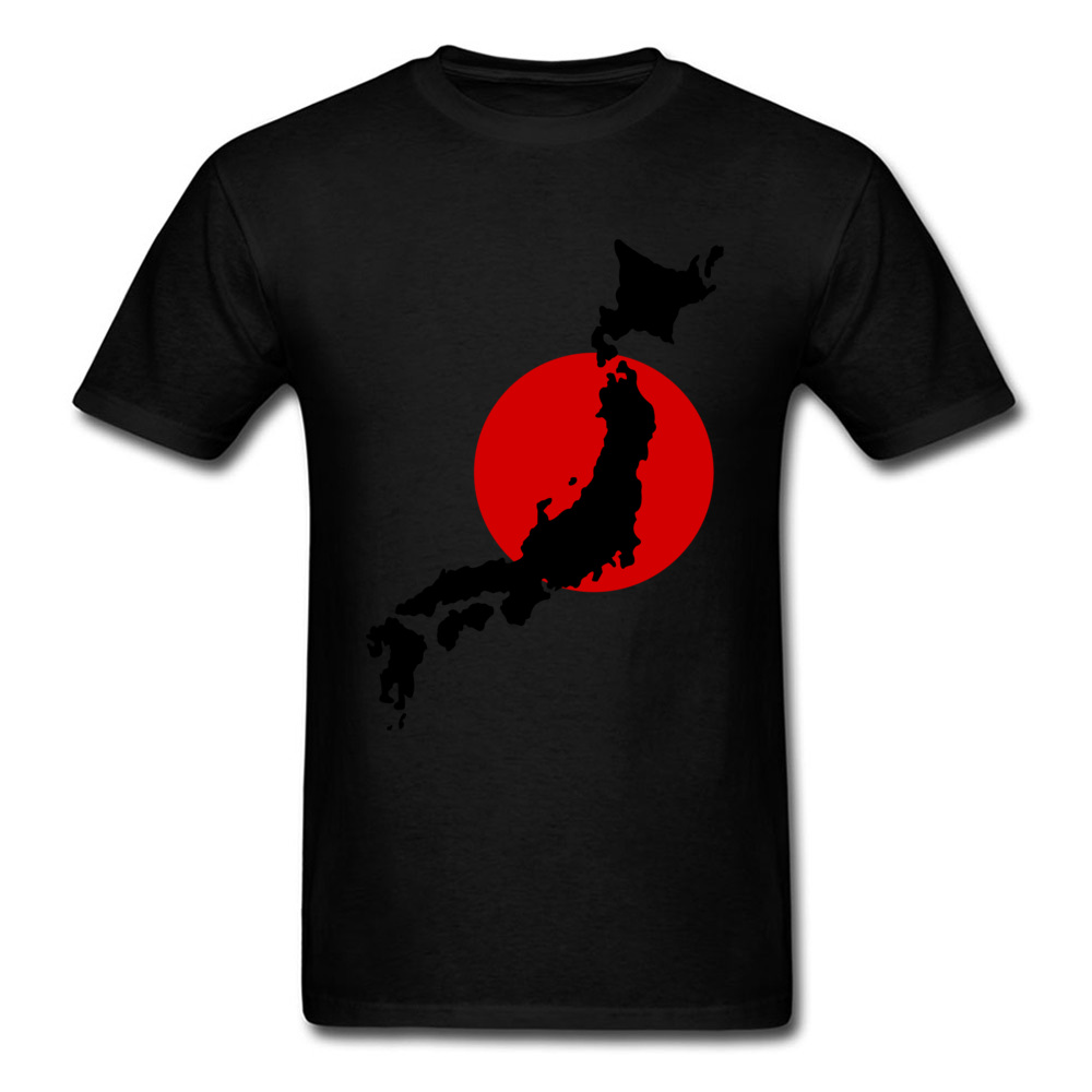 Japan Graphic Normal Summer Cotton Round Neck Men Tops Tees Birthday T Shirts On Sale Short Sleeve Tshirts Drop Shipping Japan Graphic black
