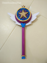 Star vs. The Forces of Evil Princess Star Butterfly Cosplay Magic Stick Wand Staves Accessorie Prop
