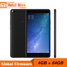 "Original Xiaomi Mi Max 2 4GB RAM 64GB 6.44"" Display Snapdragon 625 Octa Core Mobile Phone Max2 12.0MP 4K Camera IMX386 5300mAh(China)"