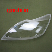 headlamps glass cover transparent lampshades lamp shell masks For FORD FOCUS 09-11 2pcs(China)