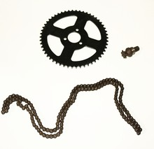 Free shipping high quality 49CC Mini Motorcycle sprocket ,25h chain , Seven gears for mini bike