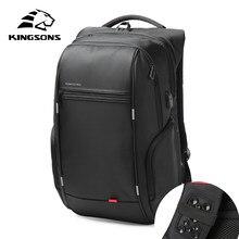 8eafd77c03ae Kingsons Waterproof Men Women Backpack USB Charging Male Female School  Backpacks Anti-theft Laptop Backpack