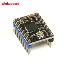 Micromake 3D Printer Parts Makeboard Drive Board Support 128 Microstep Resolution 8 Type Stepper Mode 1.5A Compatible with A4988(China)