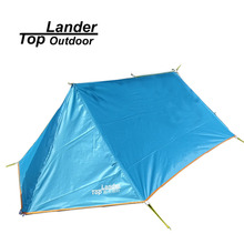 Toplander DIY Waterproof Camping Tent Breathable Mosquito Net Tent A Tower Tarp Tent Shelter Ultralight Hiking Single Tents