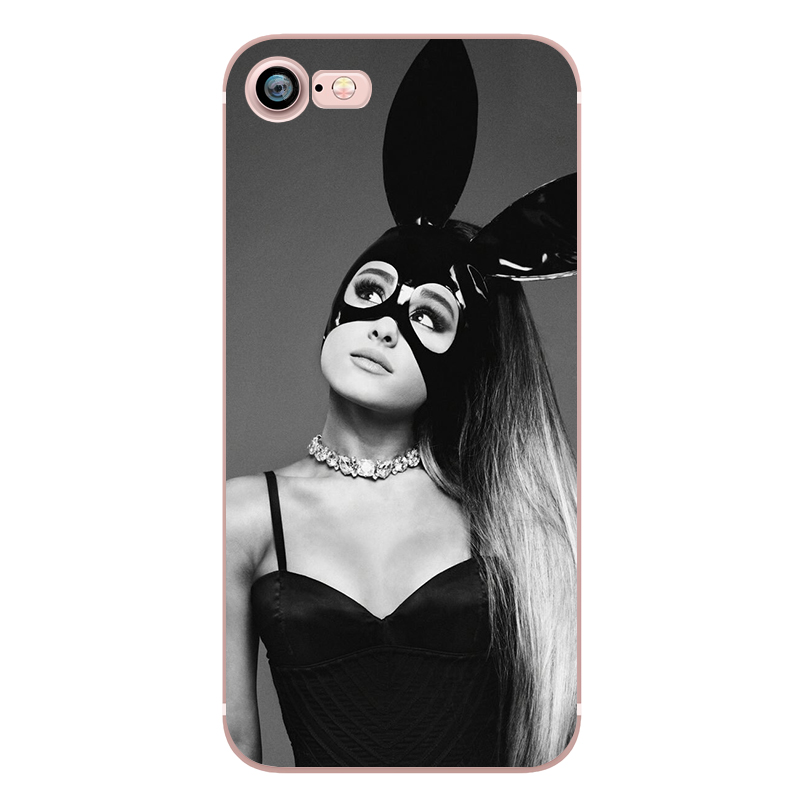 Ariana Grande Coque Dangerous Woman Everyday Beauty and the Beast Phone Cases for iphone 5s 7 6 plus 6s SE 5 Soft Clear Silicone (4)