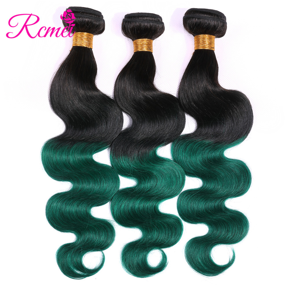 Ombre Honey Blonde Brown Wine Red Colored Bundles Two Tone Dark Roots Brazilian Body Wave Hair Weave 3 Bundle Deal Nonremy Rcmei Hair Weaves Hair Extensions & Wigs