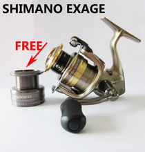 100% ORIGINAL  Shimano Exage 1000 2500 3000S 4000 FD spinning reel  5BB Lightweight XGT-7 One free spare spool