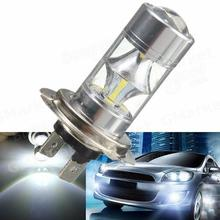 2pcs/lot Super Bright White High Power h7 12SMD 3528 1210 LED LED Bulbs For Turn Signal,Backup DRL Lights H4 H7