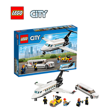 Lego City Airport VIP Service Architecture Building Blocks Model Kit Plate Educational Toys For Children Legc60102
