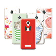 2016 Fashion Fruit Art printed Case For Micromax Q380 Case Cover For Micromax Canvas Spark Q380 Soft TPU Back Cover+ Free Pen(China)